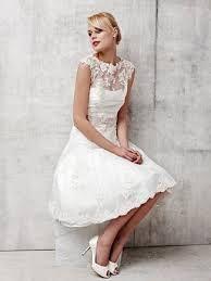 Výsledek obrázku pro short wedding dress