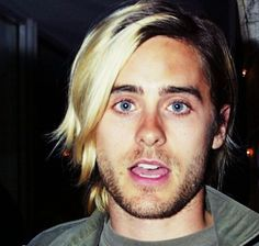 Yea, i know this is Jared Leto - so what? I'm spamming this pinboard with him cause rumor has it he looks like Justin, or was that the other way around????