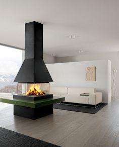 Gruppo Piazzetta #fireplace