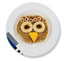 owl english muffin snack