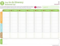 Fun ideas to help you create a To Do list!