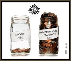 THE WINCHESTER FAMILY WAY FACEBOOK PAGE TWFW. My swear jar would also be full...