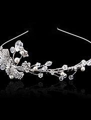 Elegant Brass Headbands with Imitation Pearl an... – USD $ 29.99