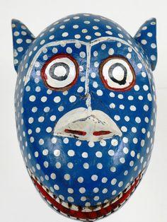 Bozo Blue Mask