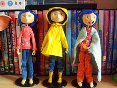 Coraline dolls, my husband worked on this awesome movie!