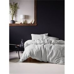 Snuggle up in the soft, refreshing Linen House Hemsworth Grey Jersey Quilt Cover Set King House, Bed Linen Design, Bed Linens Luxury, Home Decor, Bed Linen Online, Guest Room Bed, Duvet Cover Sets, Duvet Covers, Bedding Sets