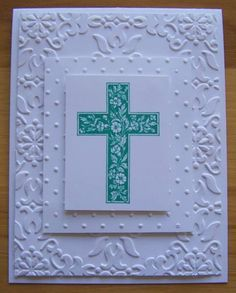 Easter Celebration by nilakias - Cards and Paper Crafts at Splitcoaststampers    Crosses of Hope