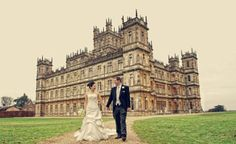 Get married at Downton Abbey for $24,000. Ya OKAY! I'm sure my husband will be totally fine with this