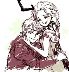 Jelsa Frozen Fever by _shushushun. Cuties!!!