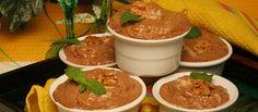 Mousse de chocolate com bolacha e noz - TeleCulinária Receitas de Culinária - TeleCulinária Receitas de Culinária