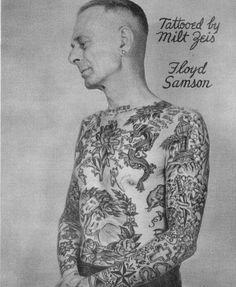 tattoos by Milton Zeis