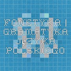 Fonetyka | Gramatyka języka polskiego