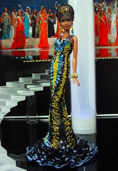 Miss Mozambique 2013/14 by Ninimomo Dolls