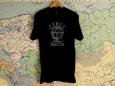 CYRIL WANDER T SHIRT Wander, Stitch, Cotton, Mens Tops, T Shirt, Leather, How To Wear, Outfits, Clothes
