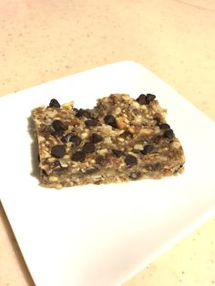 Wholesome, soft and chewy Cookie Dough Granola Bars! Made with healthy ingredients, sweetened only with fruit, and tastes just like cookie dough. Amazing!