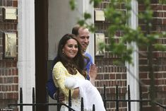 The newest Royal was born at 8.34am today weighing 8lbs and 3oz - less than three hours after the Duchess was admitted to hospital