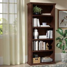 Dark Wood Bookcase, Wood Bookshelves, Cube Bookcase, Etagere Bookcase, Wood Shelves, Corner Bookshelves, Living Room Furniture, Home Furniture, Living Room Decor