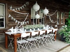 French Garden Party with Diner en Blanc at terrain