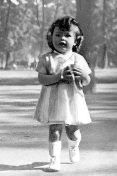 Brigitte Bardot as a girl