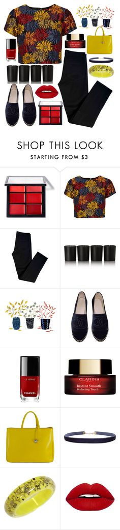 """Без названия #103"" by erohina-d ❤ liked on Polyvore featuring beauty, Alice + Olivia, J Brand, Bella Freud, Chanel, Furla, Humble Chic and Louis Vuitton"