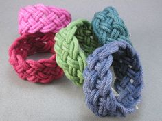 DIY sailor knot bracelets! Don't forget to make a wish before it falls off!