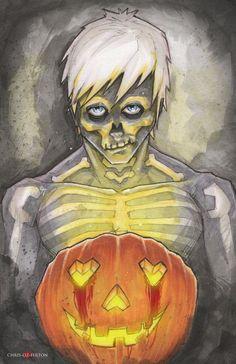 Hobo Heart Happy Halloween Creepypasta by ChrisOzFulton.deviantart.com on @DeviantArt