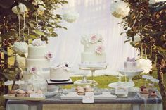 Wedding dessert table by Qualcosa di Dolce
