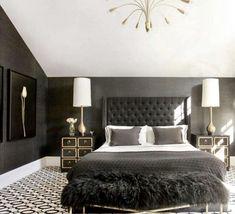 #cozybedroom #bedroomgoals #bedroomdecoratingideas #blackandwhite