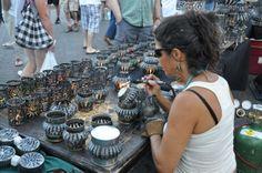 Sue's Luminary Tin Can Metal Art