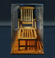 Deck Chair from The Titanic This chair is said to have been recovered ...