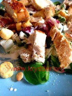 Sitronkylling med salat