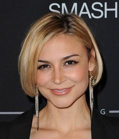 Samaire Armstrong Cute Bob Hairstyle