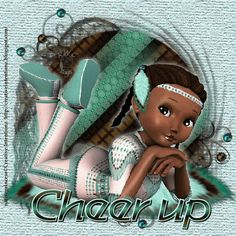 Cheer up Afro girl Photos For Facebook, Afro Girl, Cheer Up, Princess Zelda, Pictures, Fictional Characters, Image, Collection, Photos