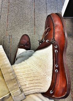 Discussion on traditional clothing and prep style - photos are not my own. Preppy Mens Fashion, Mens Fashion Shoes, Sock Shoes, Shoe Boots, British Country Style, Loafers With Socks, Ivy League Style, Prep Style, Men's Style