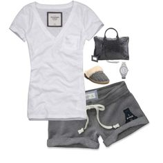 Doubtfire my-style Hot Summer Outfits, Lazy Day Outfits, Really Cute Outfits, Cool Outfits, Cute Fashion, Fashion Outfits, Womens Fashion, Aeropostale, Vs Pink