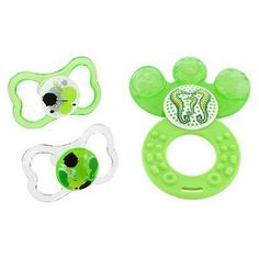 MAM Baby -  Air Pacifier 2 Pack Water Teether (6+ Months) - Green. Precio:$ 23