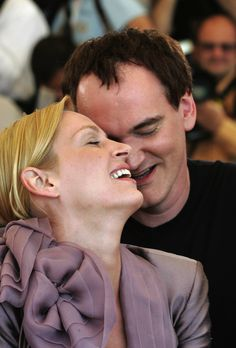 Uma Thurman & Quentin Tarantino There is magic between the two of them -- she is his muse