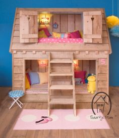 Dream home childrens bed / Kinderbed Droomhuis van saartje prum