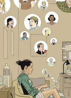 The Lonely, Painfully Funny World Of Adrian Tomine's New York | Co.Design | business + design