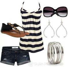 Summer casual...