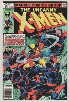 Uncanny X-Men V1 133 Bronze Age Comic Book.  VF.  May 1980. #xmen #wolverine #comicsforsale
