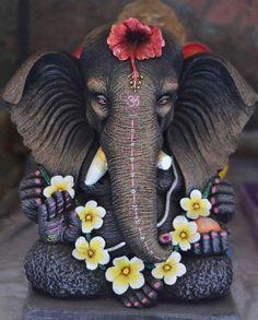Om Gam Ganesha Drawing, Lord Ganesha Paintings, Ganesha Art, Shri Ganesh, Ganesh Lord, Durga, Hanuman, Krishna Krishna, Ganesh Images
