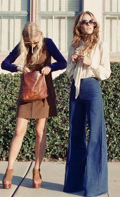 retro fashion old fashion, inspired fashion, vintage fashion 70s Outfits, Hippie Outfits, Mode Outfits, Vintage Outfits, Fashion Outfits, Seventies Outfits, Hijab Fashion, Fashion Shoes, Fashion Tips