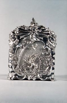 Sugar Box by: Paul de Lamerie...ca. 1744–45 English (London)...Silver...