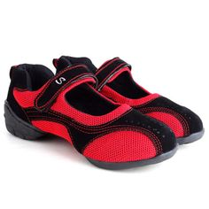 Summer Square Dance Dance shoes women dancing shoes mesh shoes increased soft bottom shoes modern jazz shoes breathable >>> For more information, visit image link. (This is an affiliate link and I receive a commission for the sales)