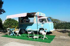 O 'food truck' Kombosa Shake na Vila Madalena