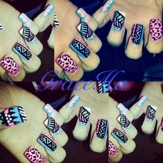 Ghetto fabulous nails
