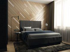 - Bedroom on Behance Bedroom Furniture Design, Bedroom Interior, Bed Design, Bed Back Design, Bedroom Bed Design, Mens Bedroom, Wooden Bedroom, Modern Bed, Ceiling Design Bedroom