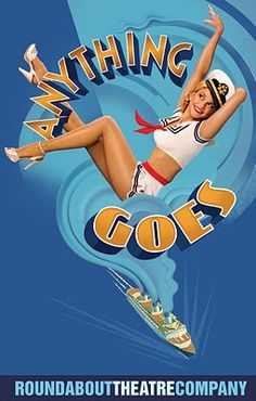 Sutton Foster in the Broadway Revival of Anything Goes