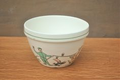 Rare Guinness Pudding Bowl. Vintage Ceramic Bowl with John Gilroy Artworks. Breweriana or Gift. by GoldenGully on Etsy